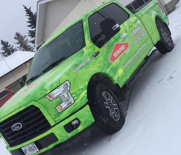 New SERVPRO of Timmins Truck